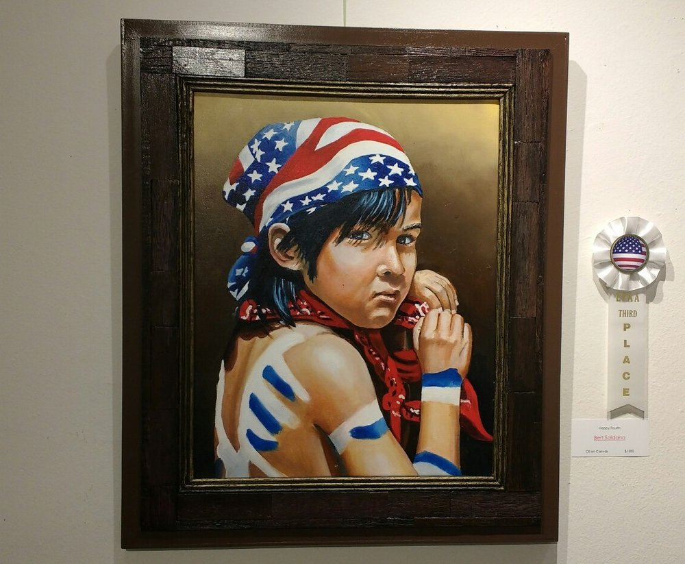 Happy Fourth by Bert Saldana. Third place