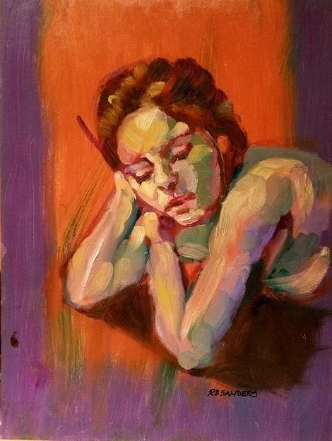 Painting by Rene B. Sanders