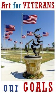 Photo courtesy of Allen Sheffield.  Donate to  Art for Veterans