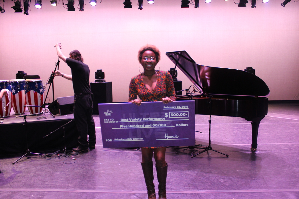 Best Variety Performance was given to Donna Gary • Spoken Word • Rubin