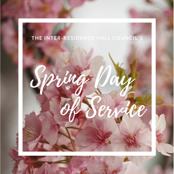 SPRING DAY OF SERVICE   Saturday, March 24