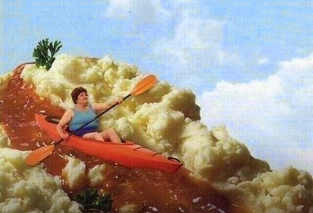 Now follow us down the gravy trail and onto our Thanksgiving post