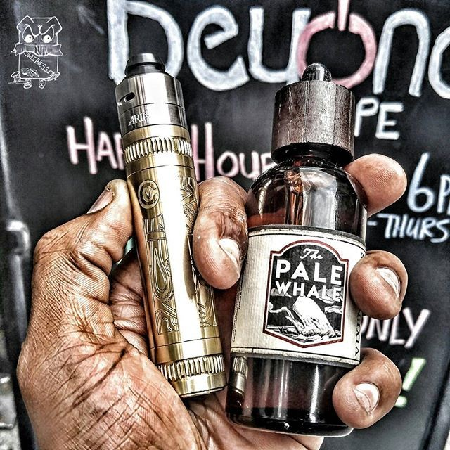 Having trouble picking a juice? You can't ever go wrong choosing Pale Whale! Available in 30 and 100ml. 