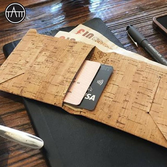 Cork leather made from the bark of Cork Oak trees. #cork #vegan #corkleather #ecofashion #sustainablefashion #sustainable #sustainableliving #tatt #tatttalk