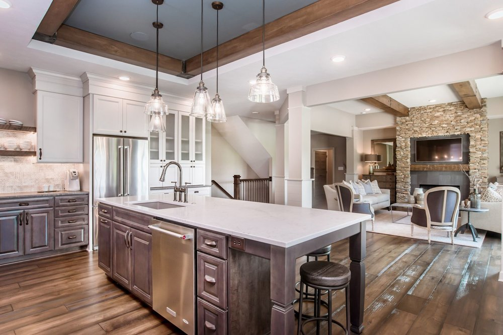Dovetail Group Indianapolis Home A Rama 2016 New Home Kitchen Design