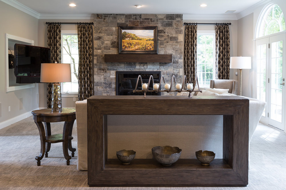 Dovetail Group Indianapolis Living Room Renovation