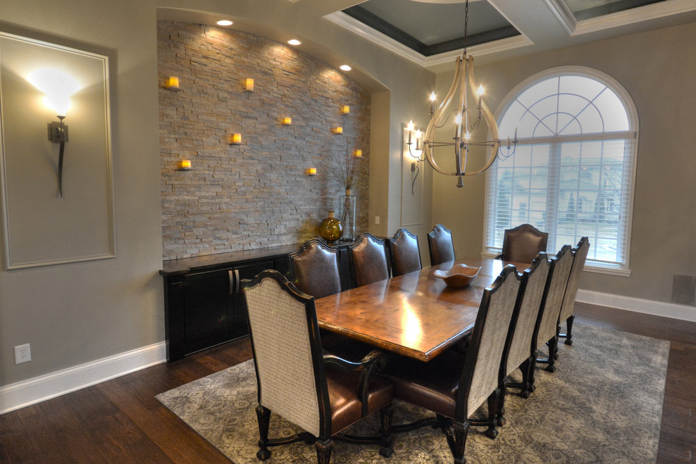 Dovetail Group Indianapolis Dining Room Renovation