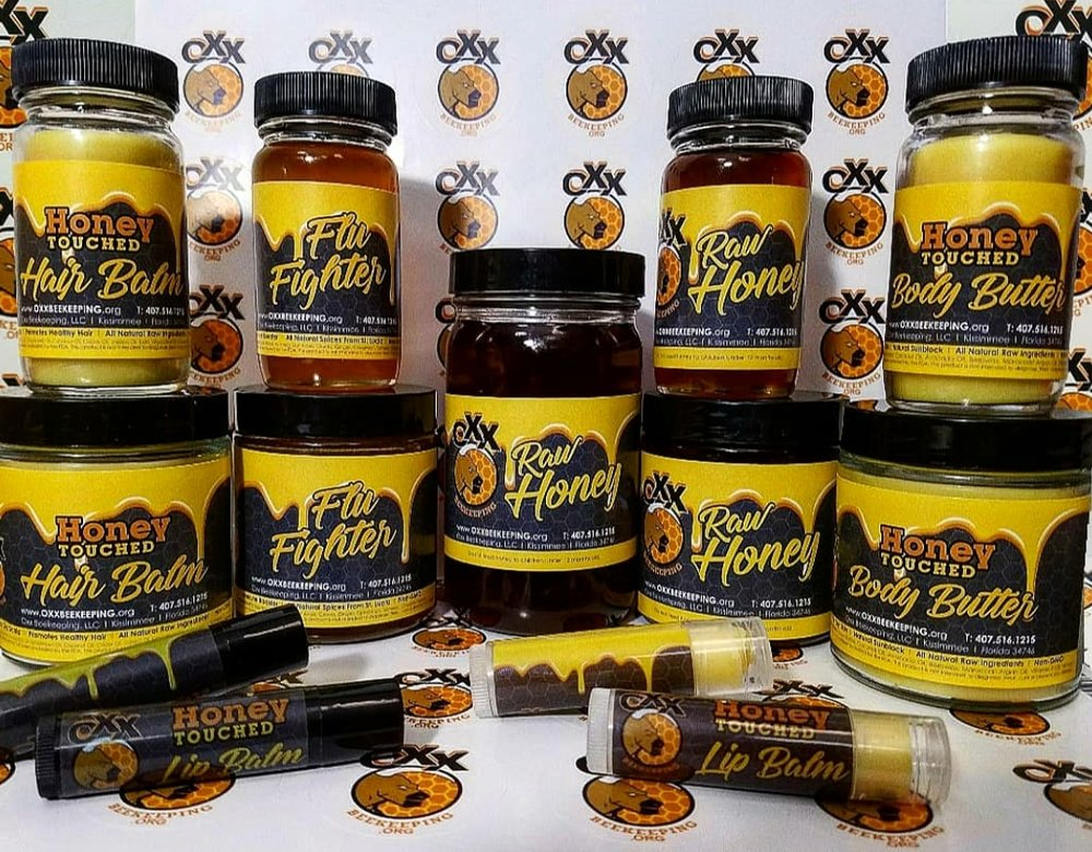 Honey Touched Products. All Natural, Raw, Non GMO, Organic, Cold Pressed Ingredients.