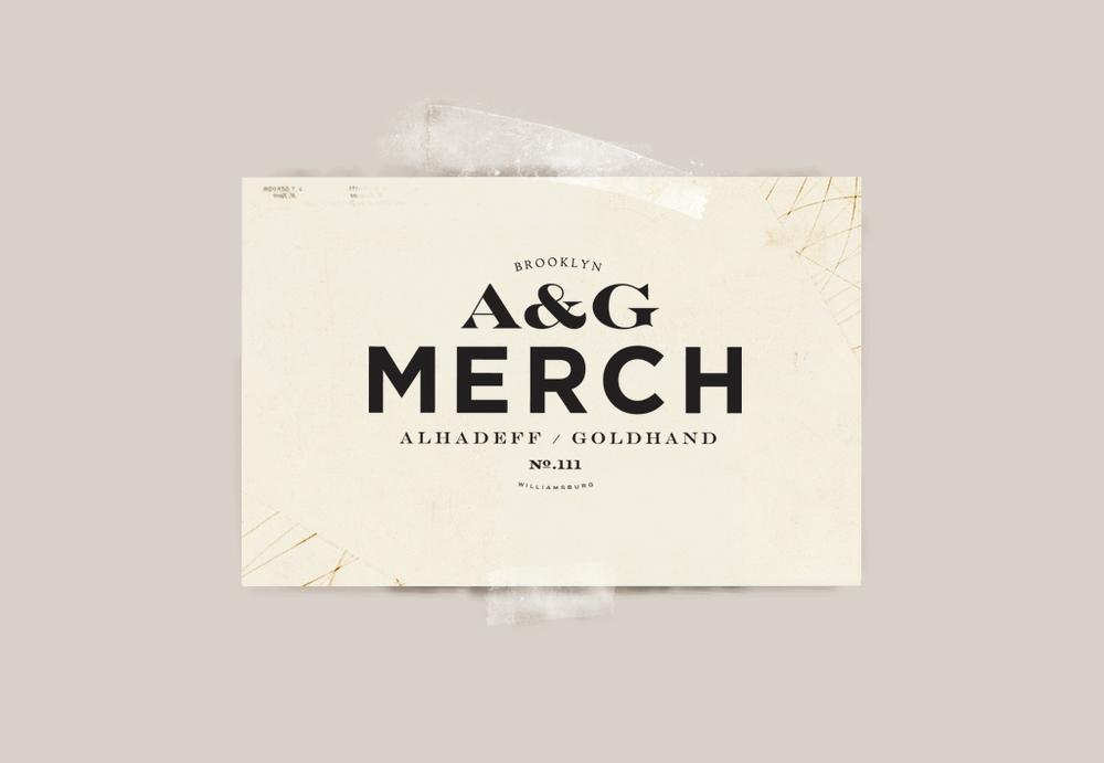 A&G MERCH Logo