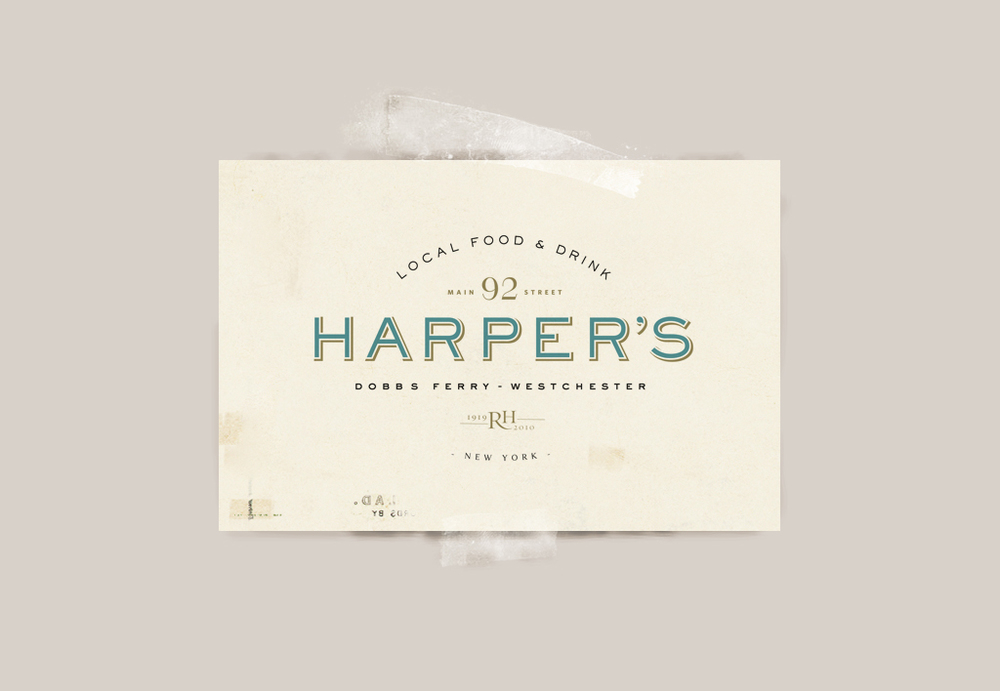 Harper's on Main Logo