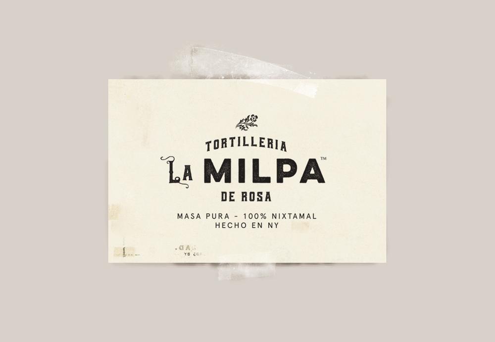 Tortilleria La Milpa de Rosa Logo