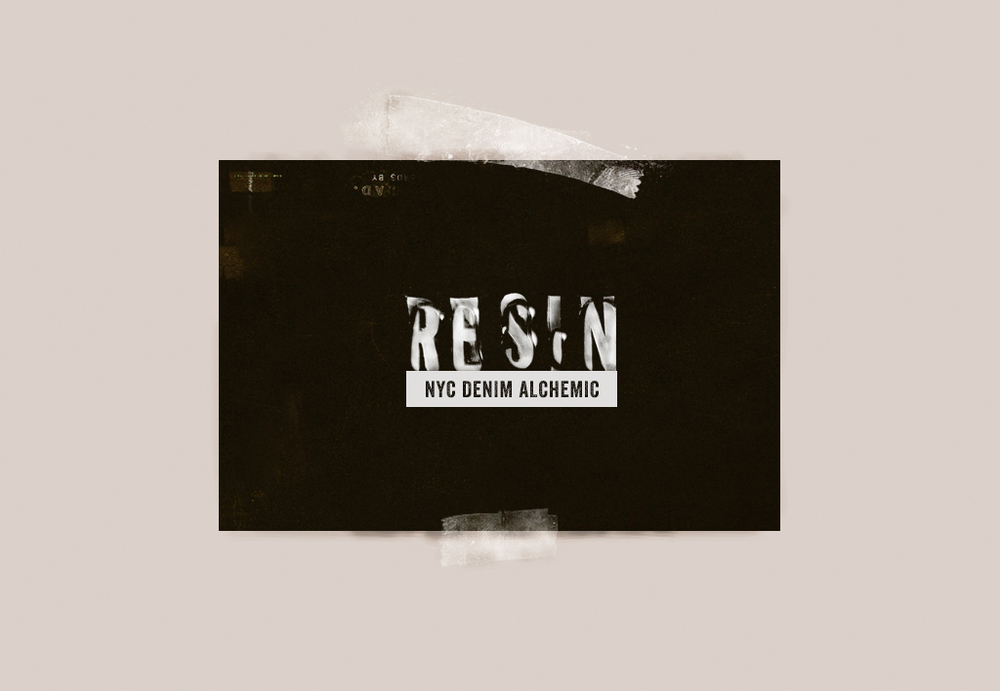 Resin Denim Logo