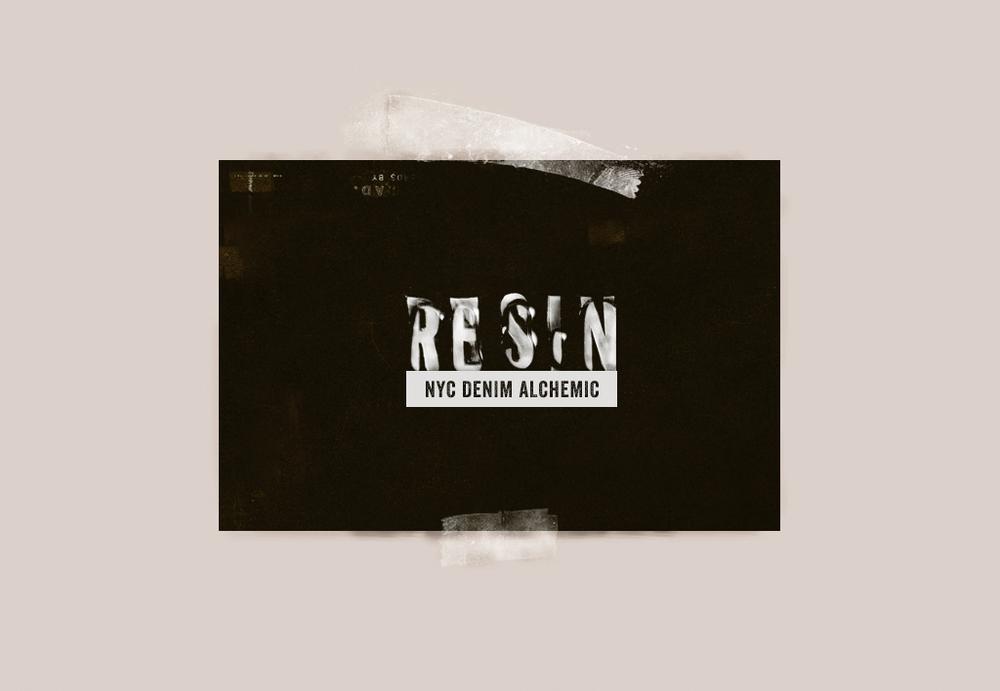 Resin Denim Logo