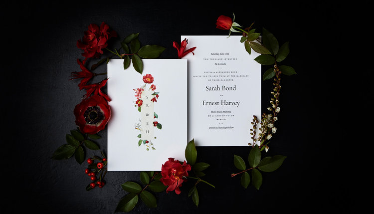 Stunning new naturalist invitation designs by melissa constands graphic design can be so caught up in its category these days but these designs powerfully redefine the expectation of what a wedding invitation can be stopboris Choice Image