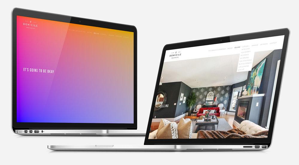 domicile properties rebrand and digital