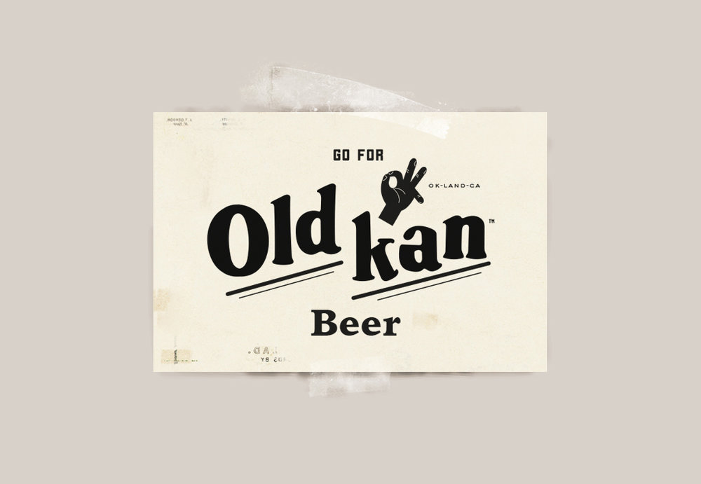 Old Kan Beer Logo