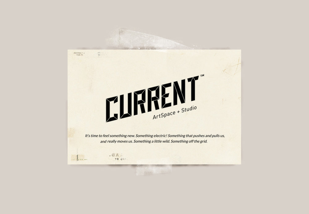 CURRENT Artspace+Studio Logo
