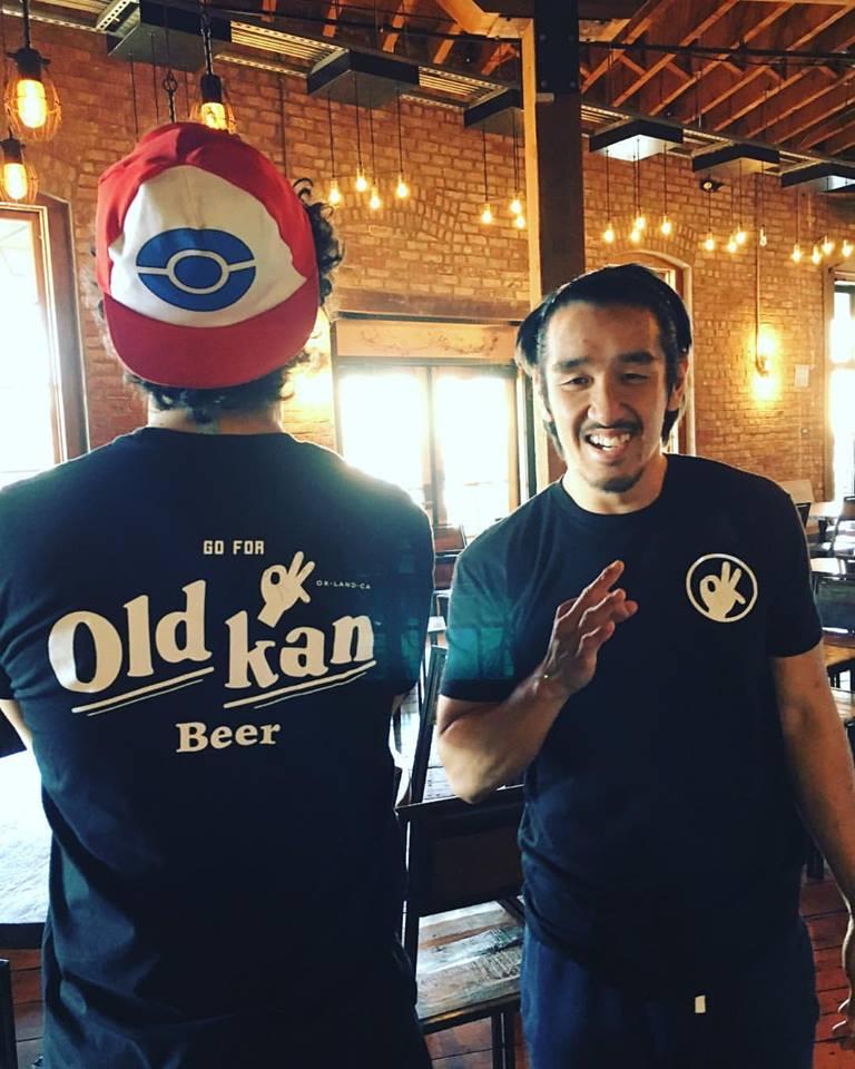 Old Kan brand OK logo