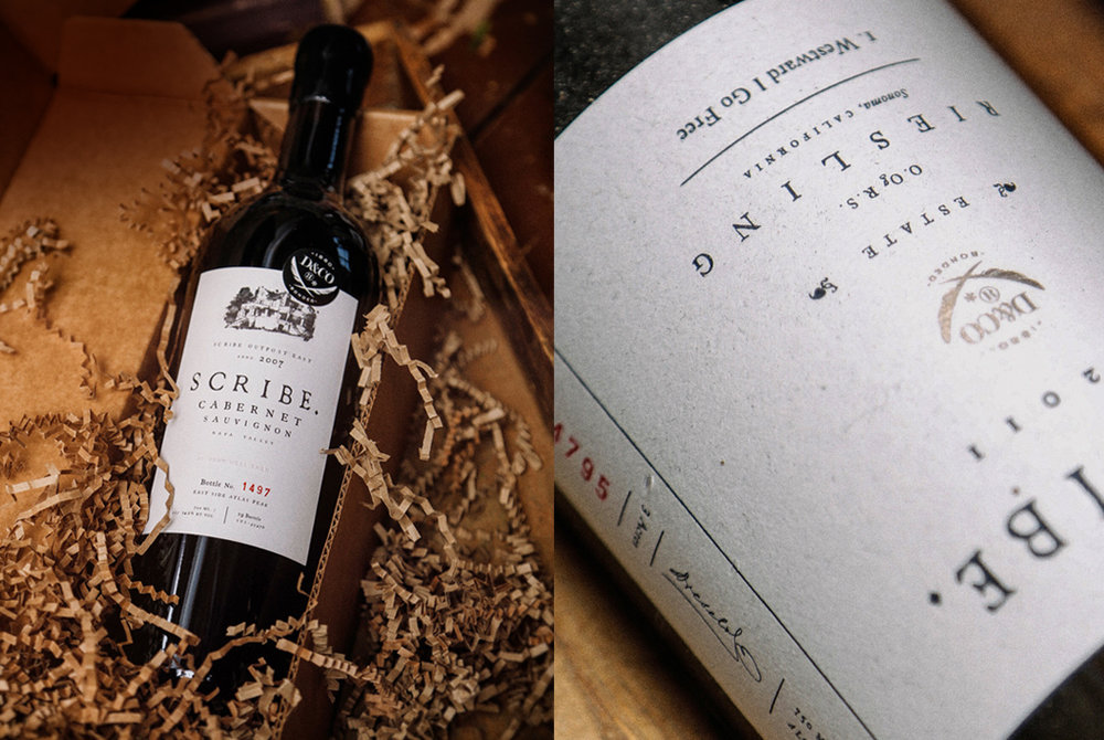 Scribe Winery - Creating a California wine brand that shares its truth and draws a crowd