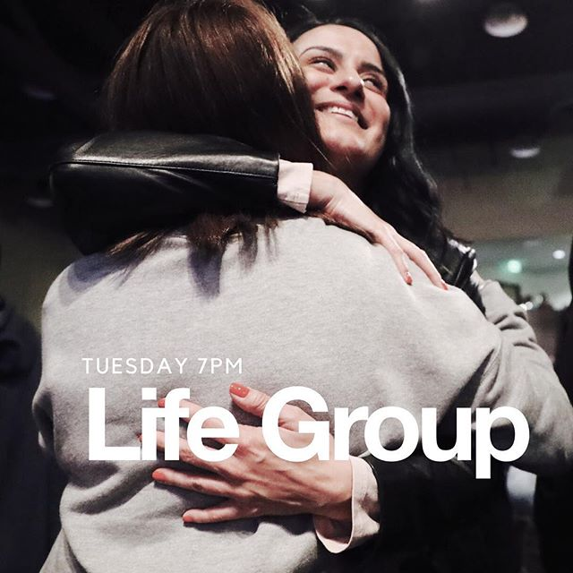 Get connected to our family through our Life Groups! Every Tuesday at 7pm Send us a DM to find out how.