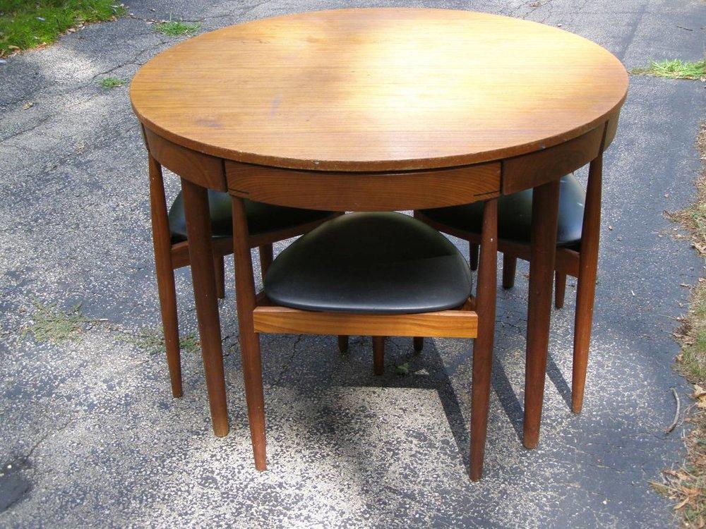 Rojle Hans Olsen Teak Dining Table 12