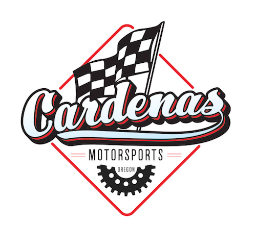 We also redesigned the logo for Cardenas Motorsports but they decided to stick with their old branding as it is currently recognized.