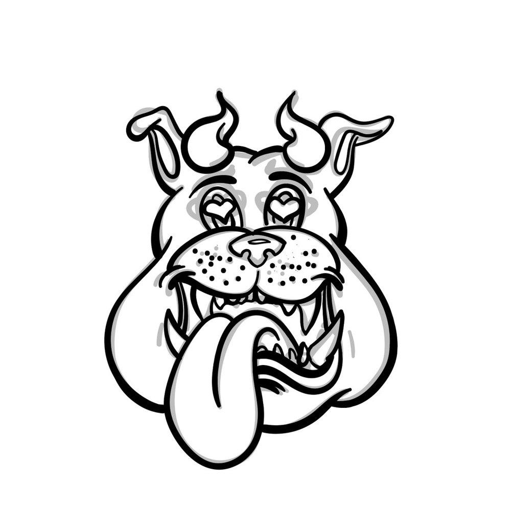 Digitial logo inking finished.