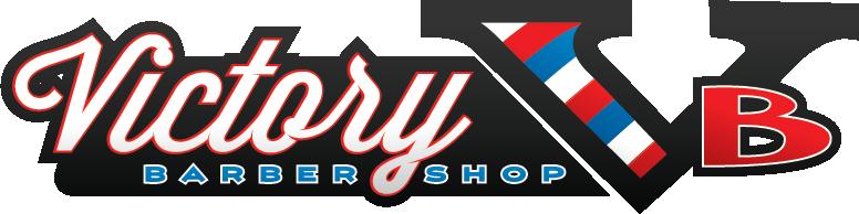 Full custom victory barbershop logo