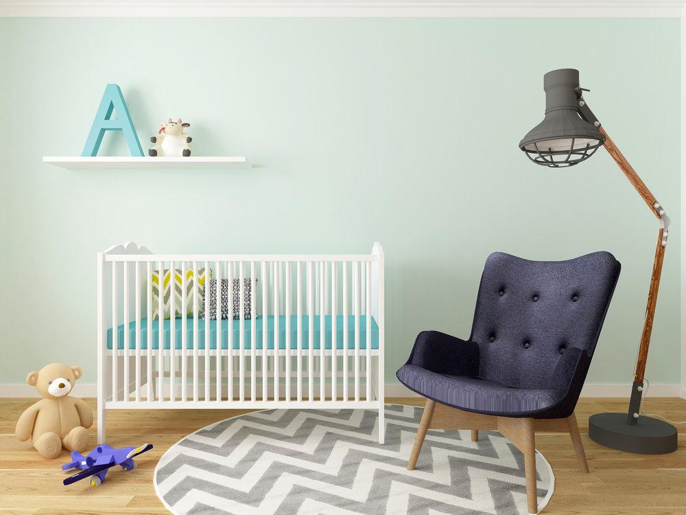 Nursery design, FUNCTION,& organization -