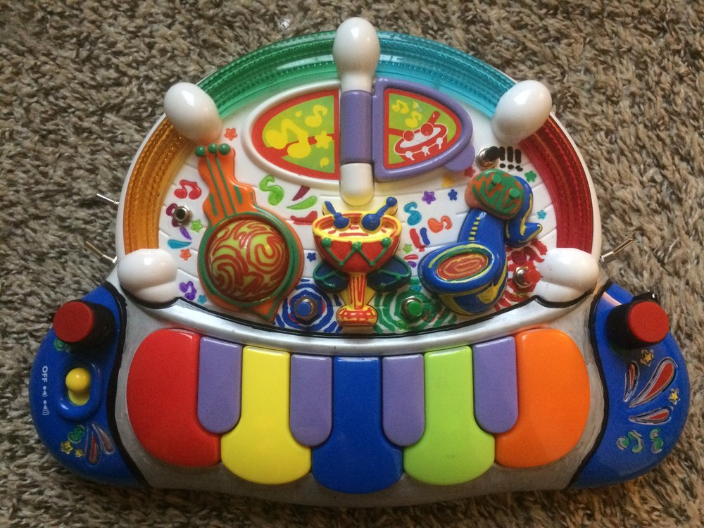 Hap-P-Kid Toy Piano