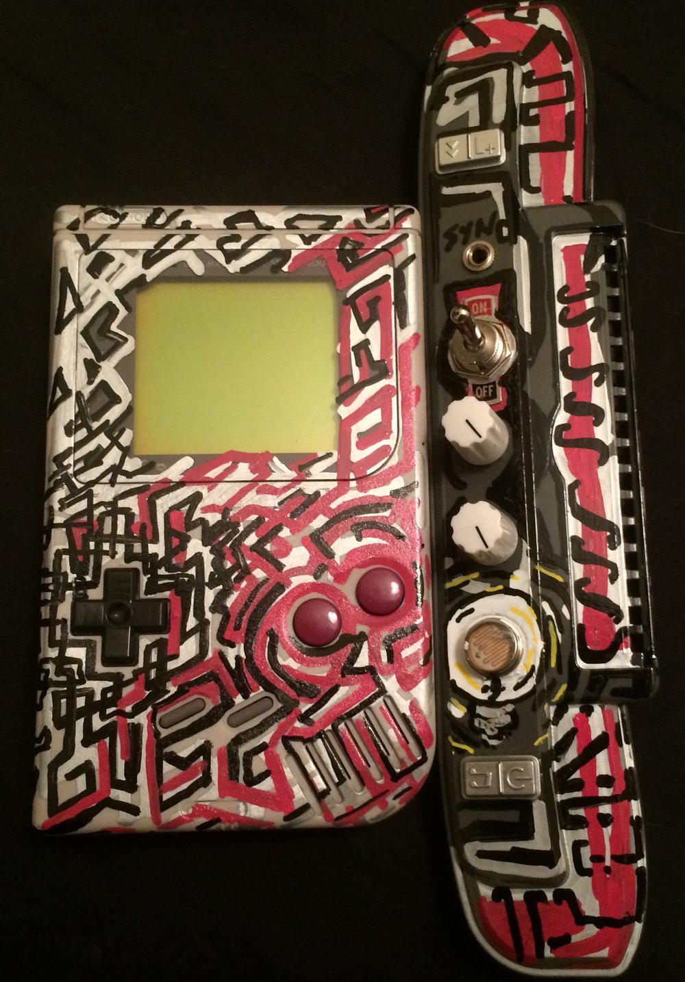 Gameboy With Custom Control Panel