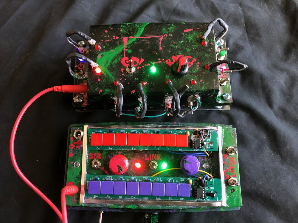 Butter Sequencer/Synth combo