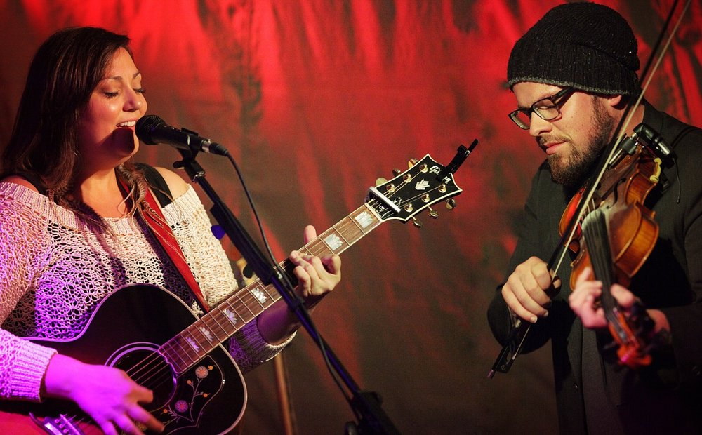 The New Customs Live at Gallery House Concerts - Calgary Alberta (Photo Credit Andy Stanislav)