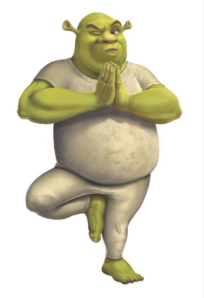 Is Shrek Really a Yogi?