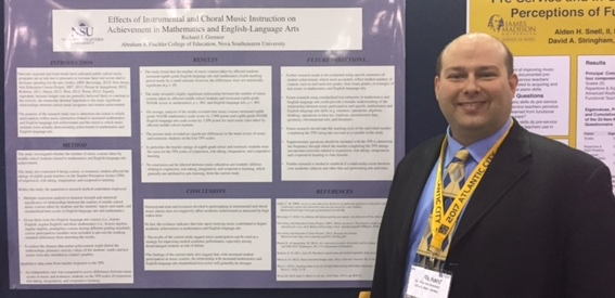 Dr. Grennor's Reserach Poster session at the NAFME Eastern Division Biennial In-Service Conference