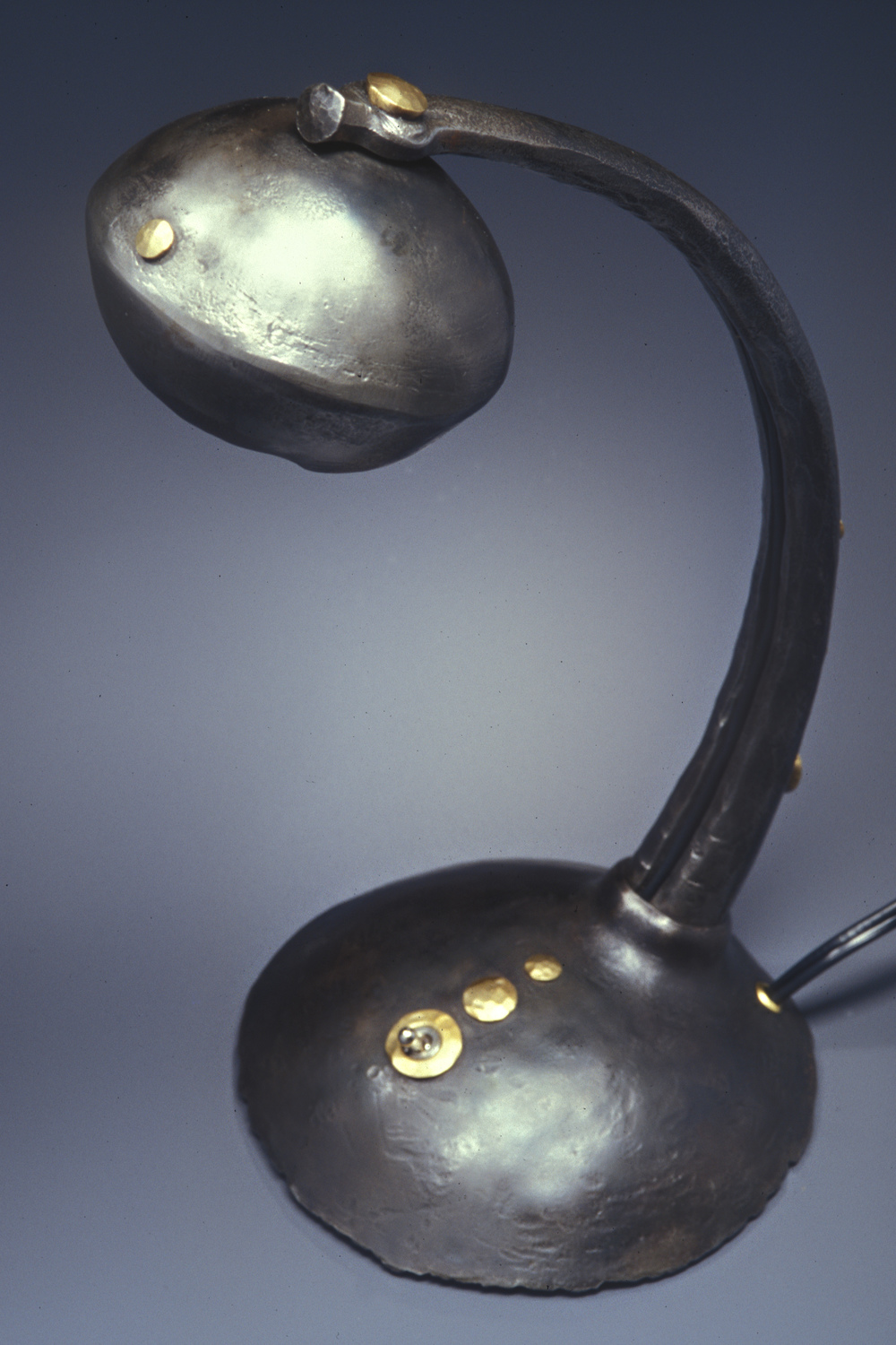 Forged Reading Lamp 2002