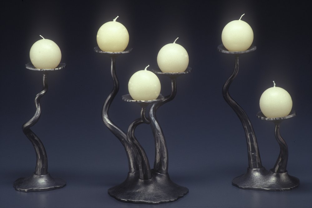 Forged Candleholders 2002