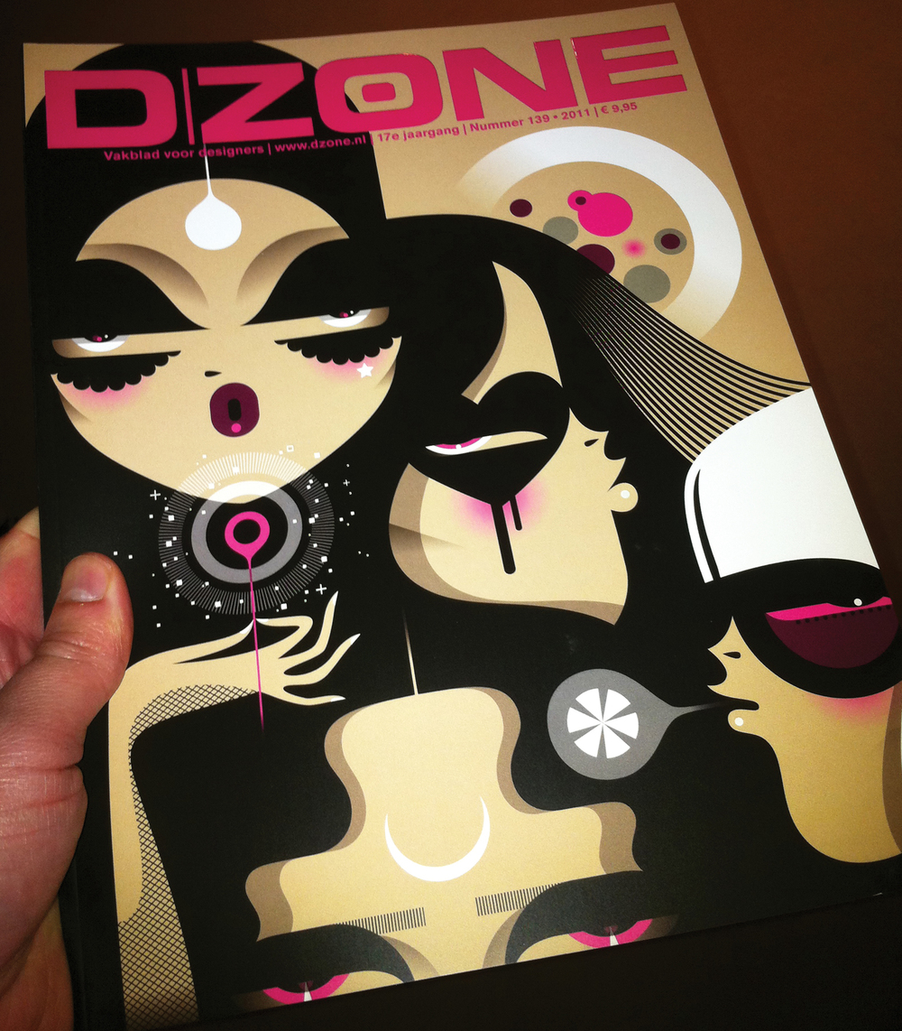 Cover of D/Zone Magazine