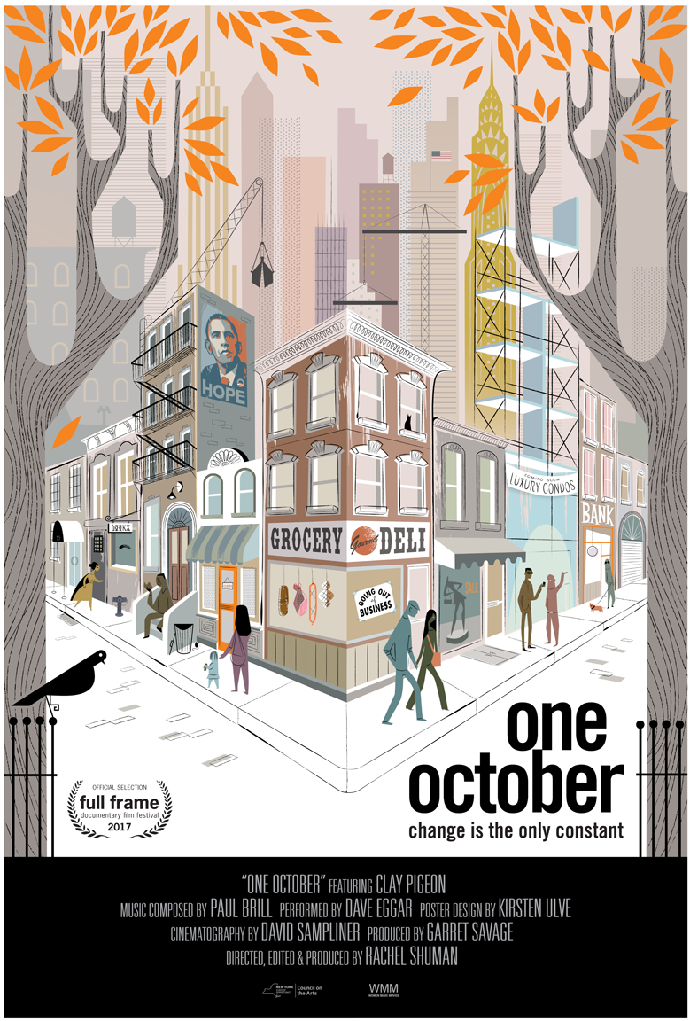 One October film poster