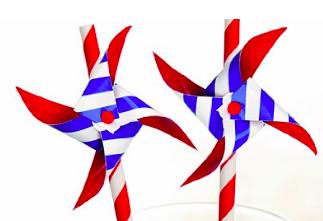 Kikkerland Pinwheel Paper Straws, $4- (Amazon.com)