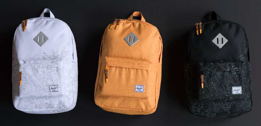 Herschel Supply + Disney Collaboration