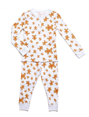 Petidoux Gingerbread Pajamas, $55-
