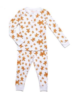 Petidoux Gingerbread Pajamas, $55-
