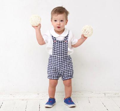 MimiiKids on Etsy Baby Boy Overalls, $32-