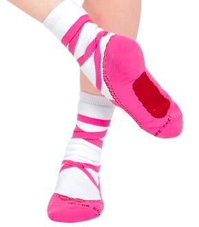 DiscountDance.com Pointe Shoe Socks, $8.05-