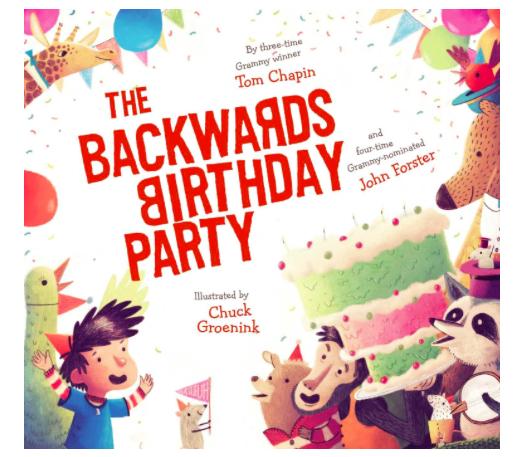 The Backwards Birthday Party, $15.84-