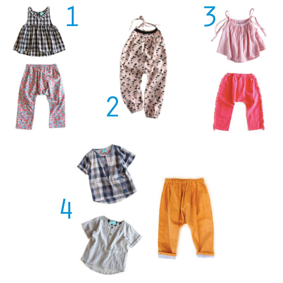 spring and summer clothing for children!