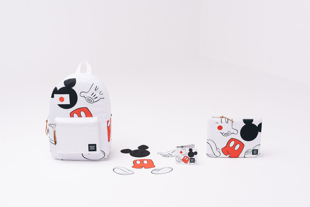 Disney's Mickey Mouse and Herschel Supply Co. Collaboration!