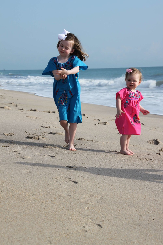 The Mackie dress for little girls on Bitsy