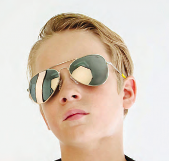 fun and trendy sunglasses for children